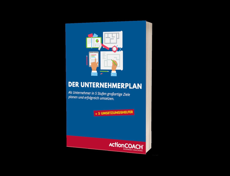 3D E-Book Cover - Der Unternehmerplan